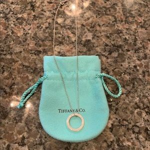 Tiffany & Co. Circle Pendant necklace